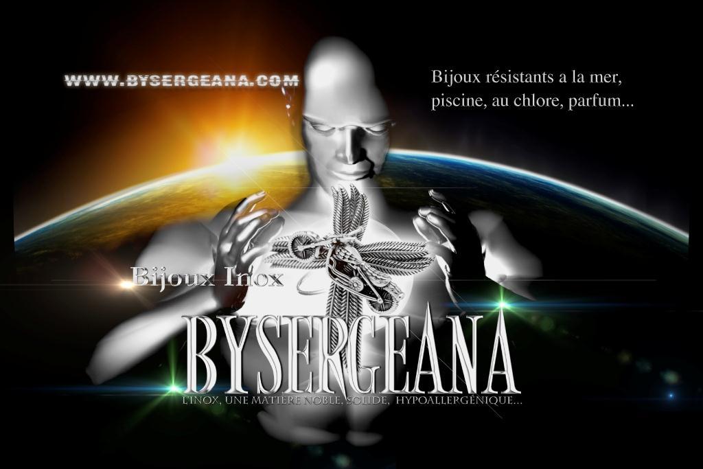 Bysergeana : bague inox, des créations, des productions, bijoux inox